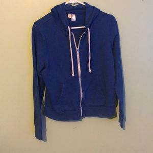 H&M DIVIDED ZIP UP